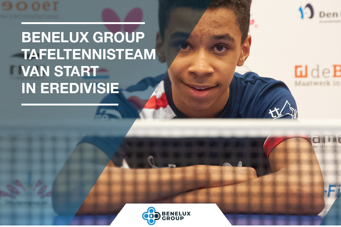 Benelux Group tafeltennis team start eredivisie