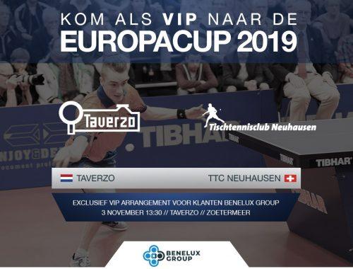 Europacup Benelux Group Taverzo
