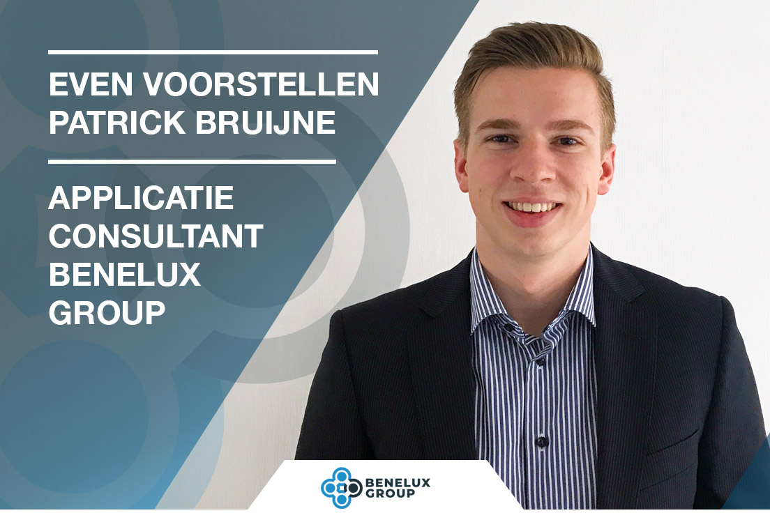 Patrick Bruijne applicatie consultant van de Benelux Group