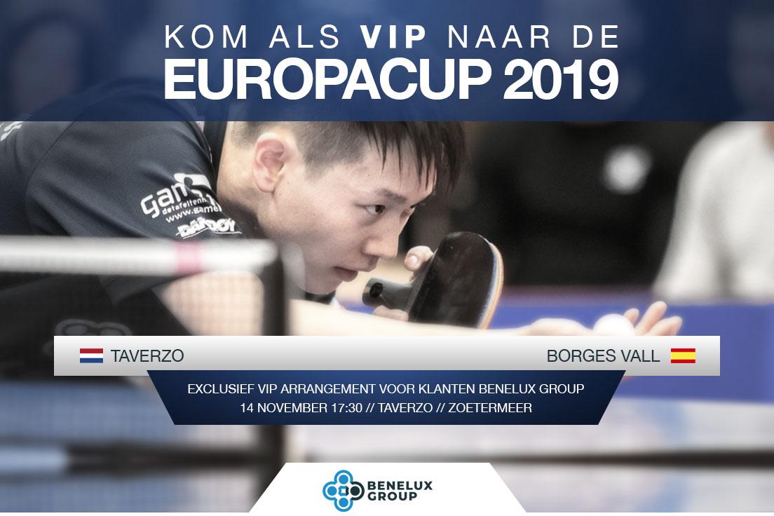 europacup 2019 team Benelux Group taverzo